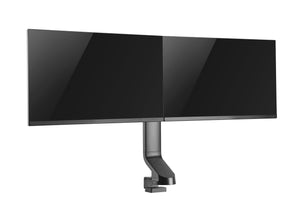 "Dual 17"" - 27"" VESA Height Adjustable Screen Monitor Mount (also suitable for standing desks)"