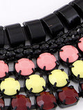 Western Stylish Punk Style fluorescence colour Necklace