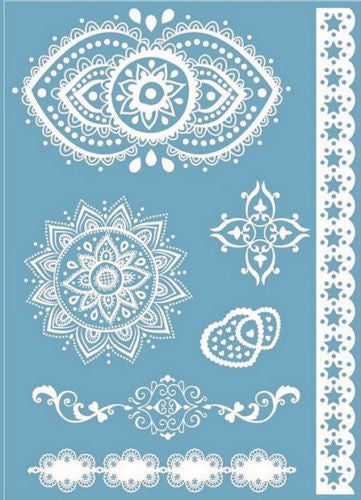 White Henna Temporary Tattoo ♥ Entice ♥