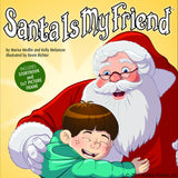Santa Is My Friend® Hardcover Book and Picture Frame Set