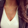 Mini V Bar Necklace