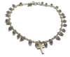 India Bracelet with Cross Charm