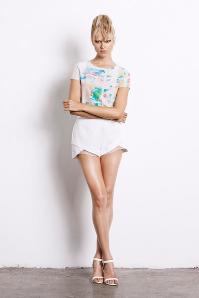 Suboo Amplify Shorts White