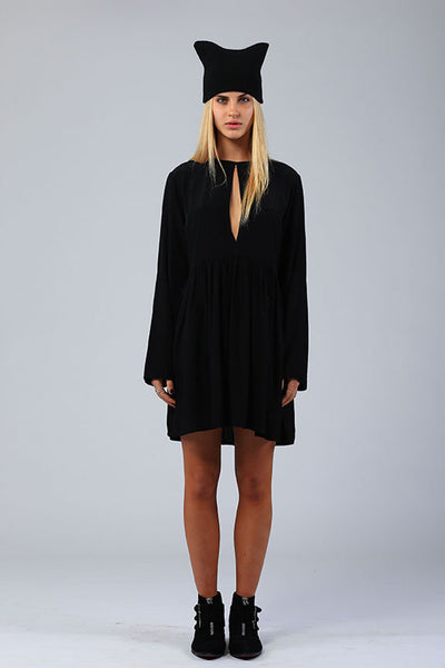 Lilya Hypnotic Dress Black