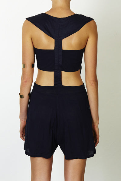 Three of Something Maddening Rush Playsuit