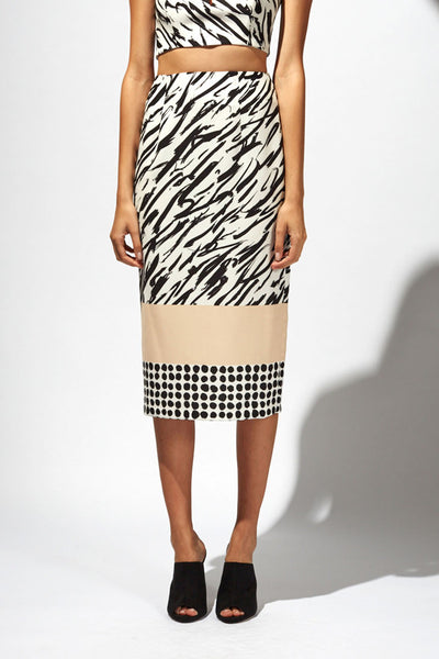Shona Joy Mark Maker Midi Pencil Skirt