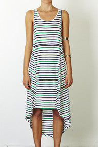 Three of Something Script Midi Dress
