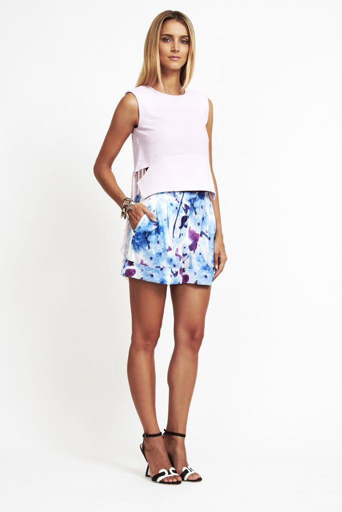 Talulah Sweet Desire Blue Blossom Shorts