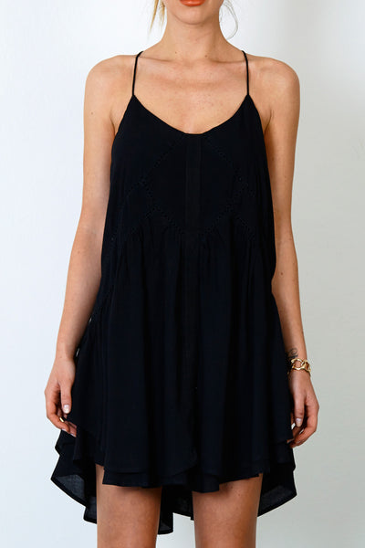 Three of Something Tranquility Dress Black