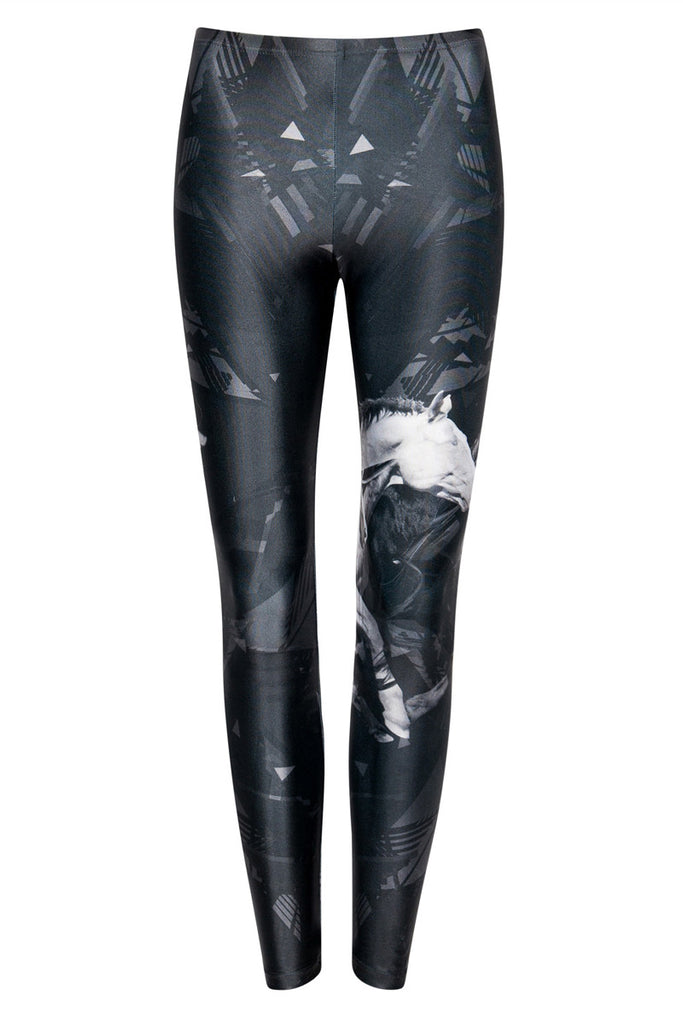 We Are Handsome White Knight Leggings