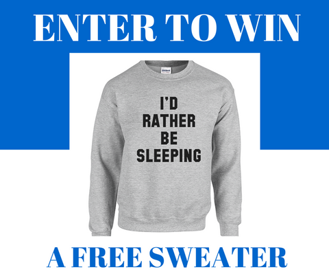 Enter to win a free sweater