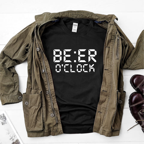 Beer O'Clock -  Ultra Cotton Short Sleeve T-Shirt - DFHM04