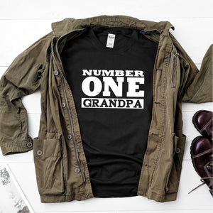 Number 1 Grandpa-  Ultra Cotton Short Sleeve T-Shirt - DFHM32