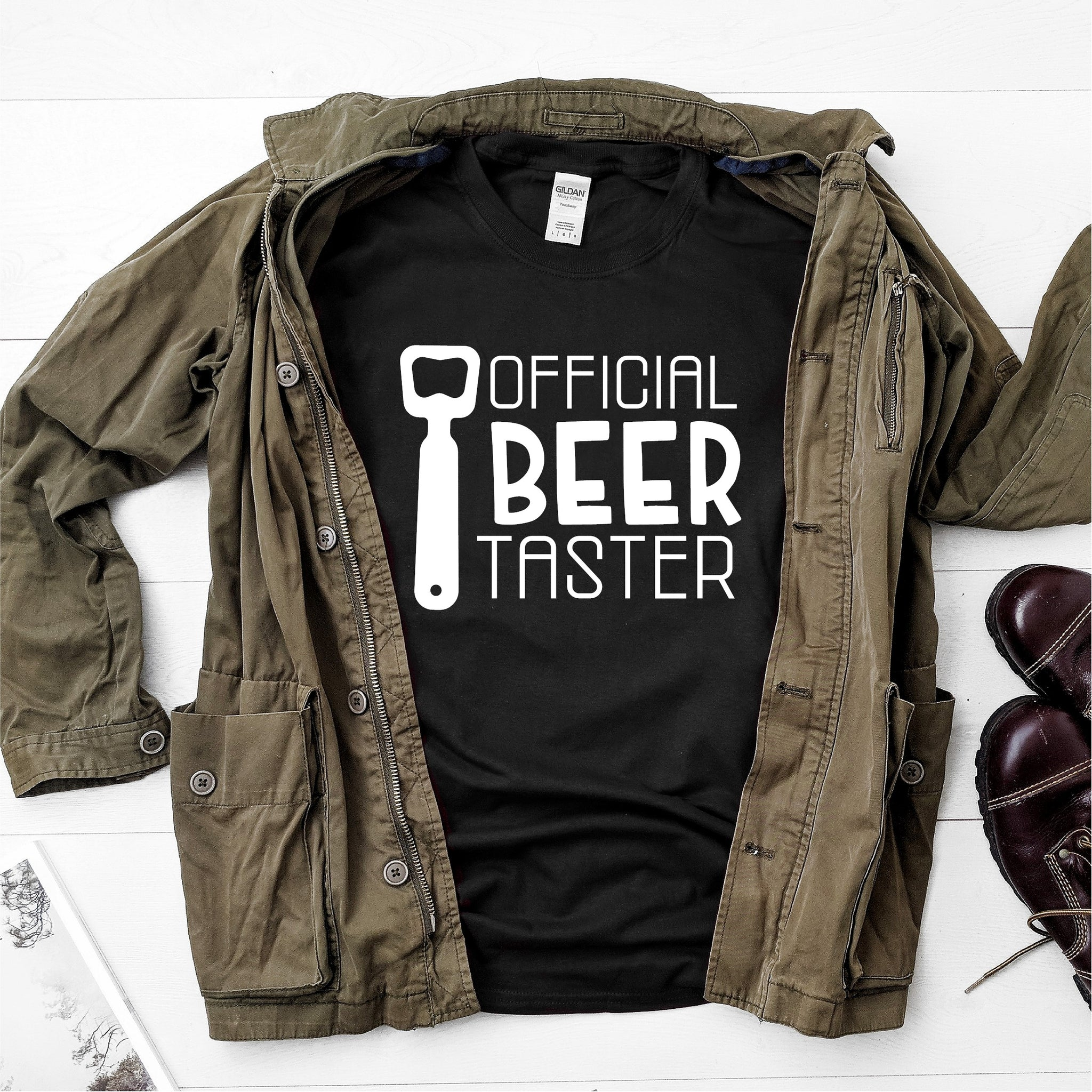 Official Beer Taster-  Ultra Cotton Short Sleeve T-Shirt - DFHM34