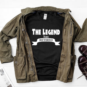 The legend has retired- Ultra Cotton Short Sleeve T-Shirt - DFHM46