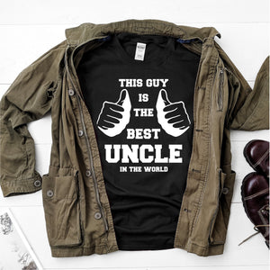 This guy is the best uncle in the world- Ultra Cotton Short Sleeve T-Shirt - DFHM54