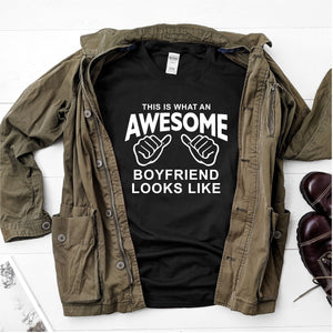 This is what an awesome boyfriend looks like- Ultra Cotton Short Sleeve T-Shirt - DFHM55