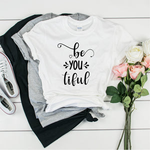 Be You Tiful - Ultra Cotton Short Sleeve T-Shirt- FHD27