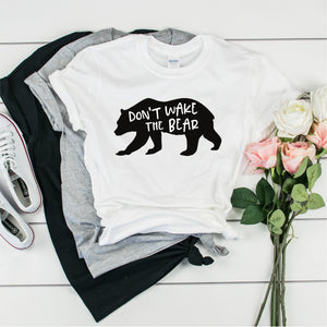 Don't Wake The Bear -  Ultra Cotton Short Sleeve T-Shirt- FHD49