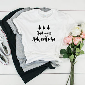 Find Your Adventure-  Ultra Cotton Short Sleeve T-Shirt- FHD51