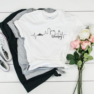 Winnipeg Skyline -  Ultra Cotton Short Sleeve T-Shirt- FHD56