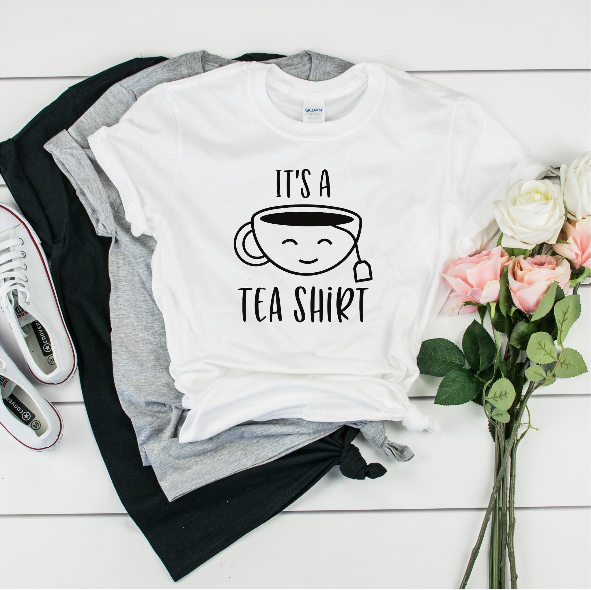 It's A Tea Shirt -   Ultra Cotton Short Sleeve T-Shirt- FHD73