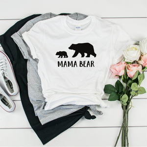 Mama Bear 2-   Ultra Cotton Short Sleeve T-Shirt- FHD79