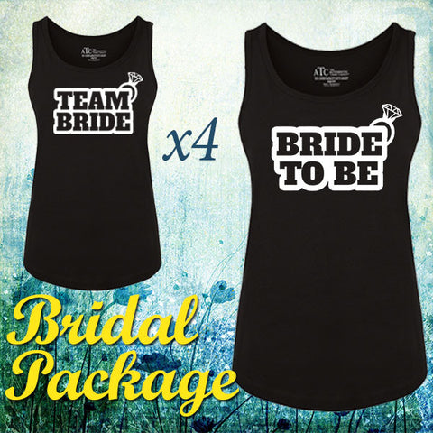 Team Bride Tanktop Package