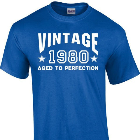 Design - Vintage, Aged To Perfection (Customizable)