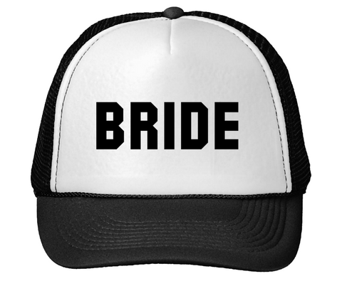 Bride Cotton Mesh Trucker Hat