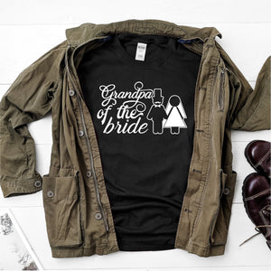 Grandpa of The Bride-  Ultra Cotton Short Sleeve T-Shirt - DFHM14
