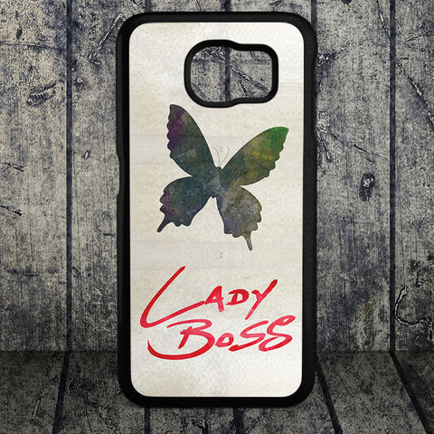 Lady Boss Cellphone Case (Black Rubber)