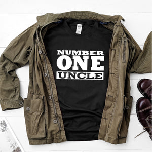 Number One Uncle-  Ultra Cotton Short Sleeve T-Shirt - DFHM33