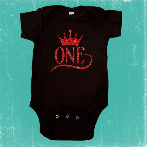 First Birthday Onesie Crown