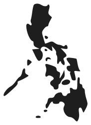 Philippine Map Decal