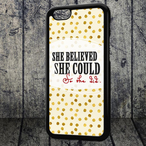 cellphone case she believed she could so she did