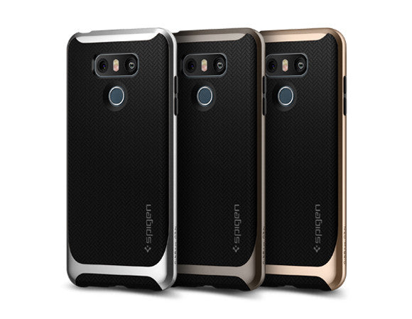 new style 0f1ec ed2e6 Details about Spigen® For LG G6 [Neo Hybrid] Shockproof Protective TPU  Bumper Slim Case Cover