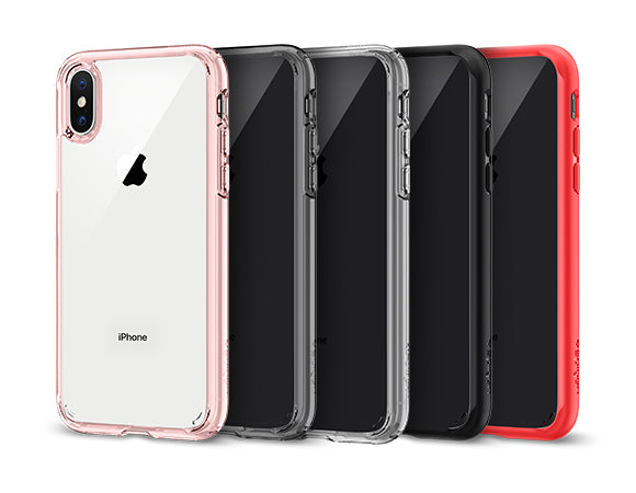 new styles 1a889 4de7f iPhone X Case Ultra Hybrid | Spigen Inc.