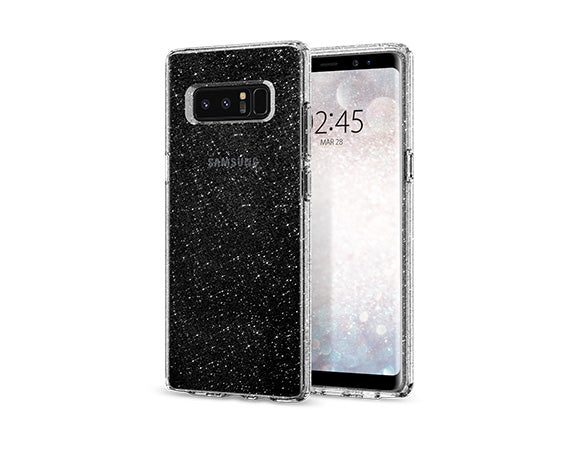 info for fdba2 71f62 Details about Samsung Galaxy Note 8 Case Spigen® [Liquid Crystal Glitter]  Slim Bling TPU Cover