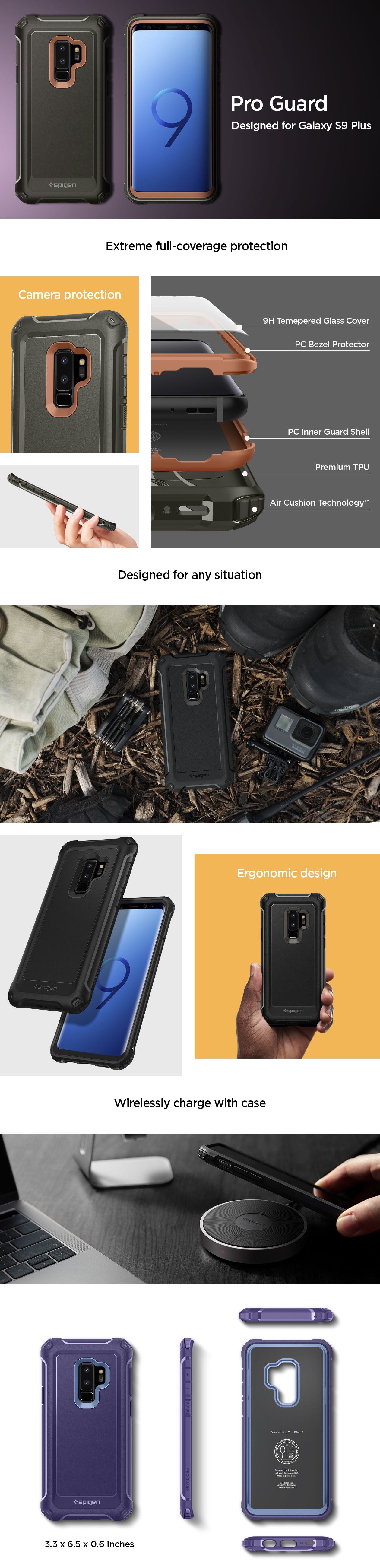 Galaxy S9 Plus Case Pro Guard – Spigen Inc