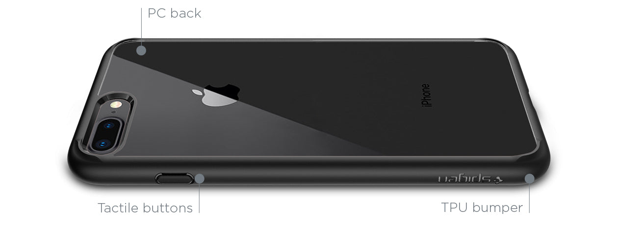 iPhone 8 Plus Case Ultra Hybrid 2 | Spigen Inc