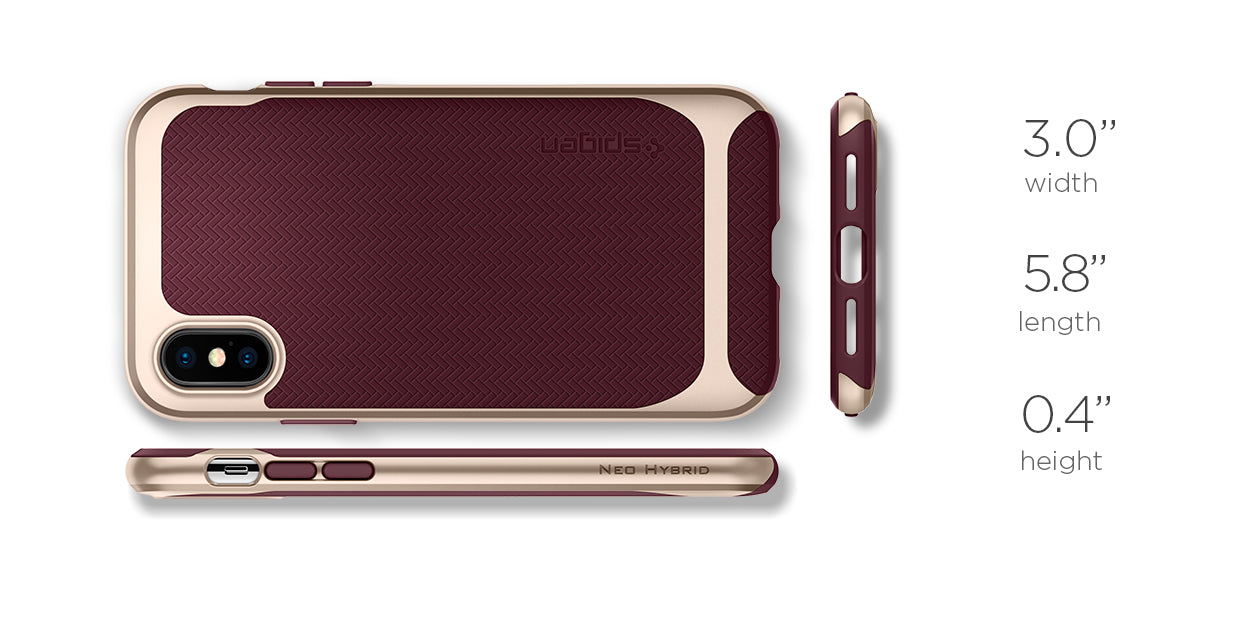 spigen custodia iphone x