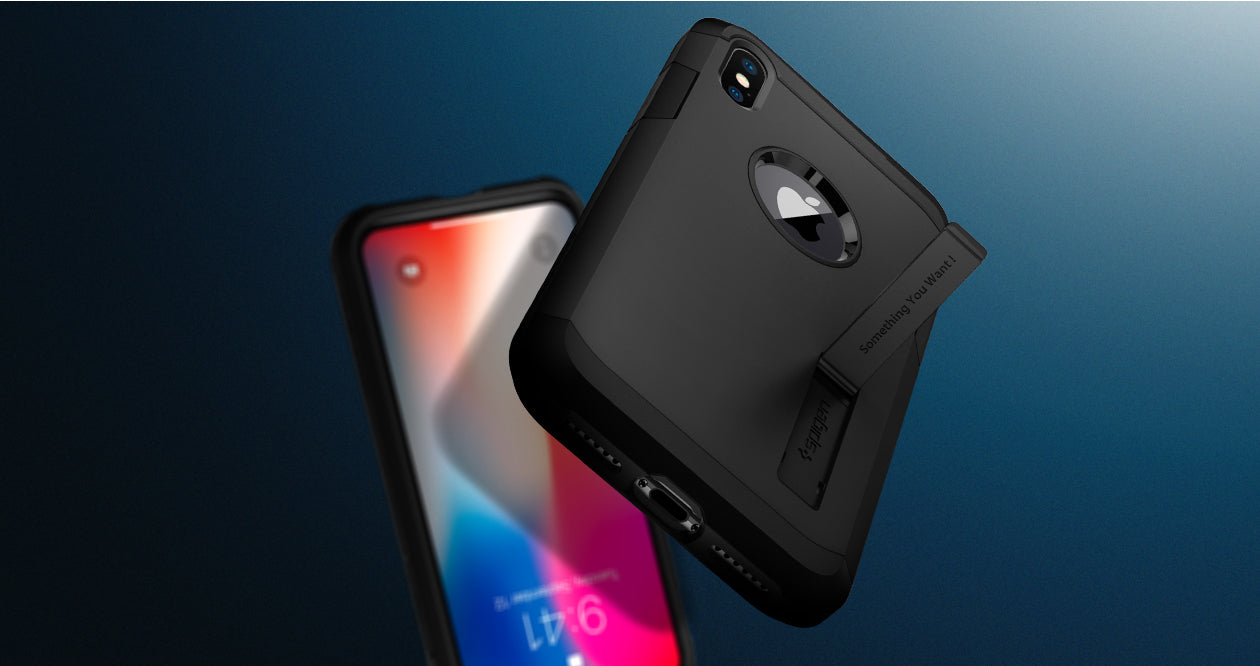 For Apple Iphone X 10 Spigen Tough Armor Rugged Slim Shockproof Case Xs Anti Shock With Stand Casing Satin Silver Related Products