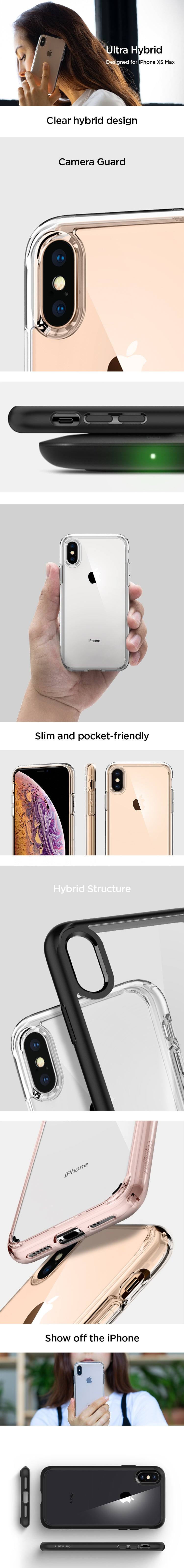 iPhone XS Max Case Ultra Hybrid – Spigen Inc