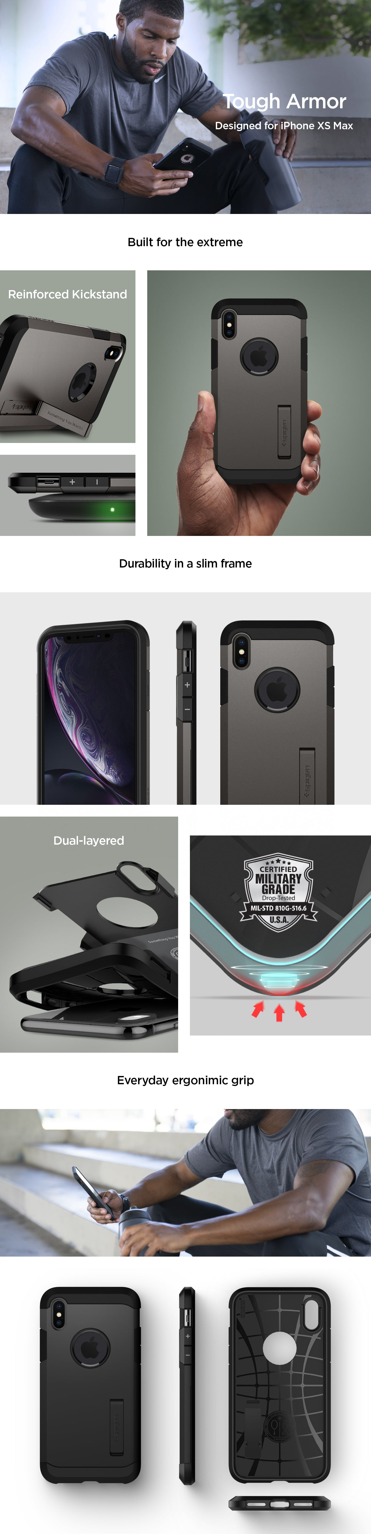 armour phone case clear iphone xs max