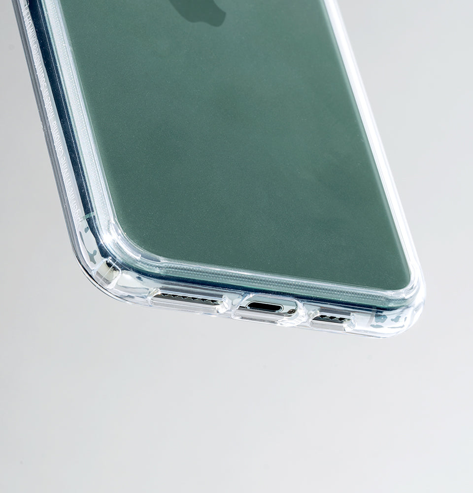 Spigen Ultra Hybrid Kompatibel mit iPhone 11 Pro H/ülle Einteilige Transparent PC R/ückschale Handyh/ülle f/ür iPhone 11 Pro Case Midnight Green ACS00417