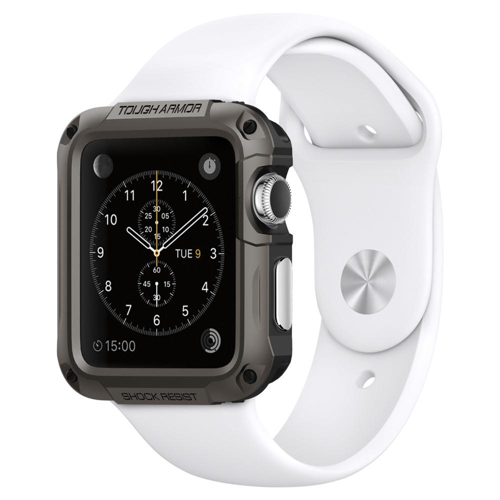 Apple Watch Series 1 Case Tough Armor 42mm Spigen Inc Tpu Soft Crystal Clear Ultra Thin Sgp11504