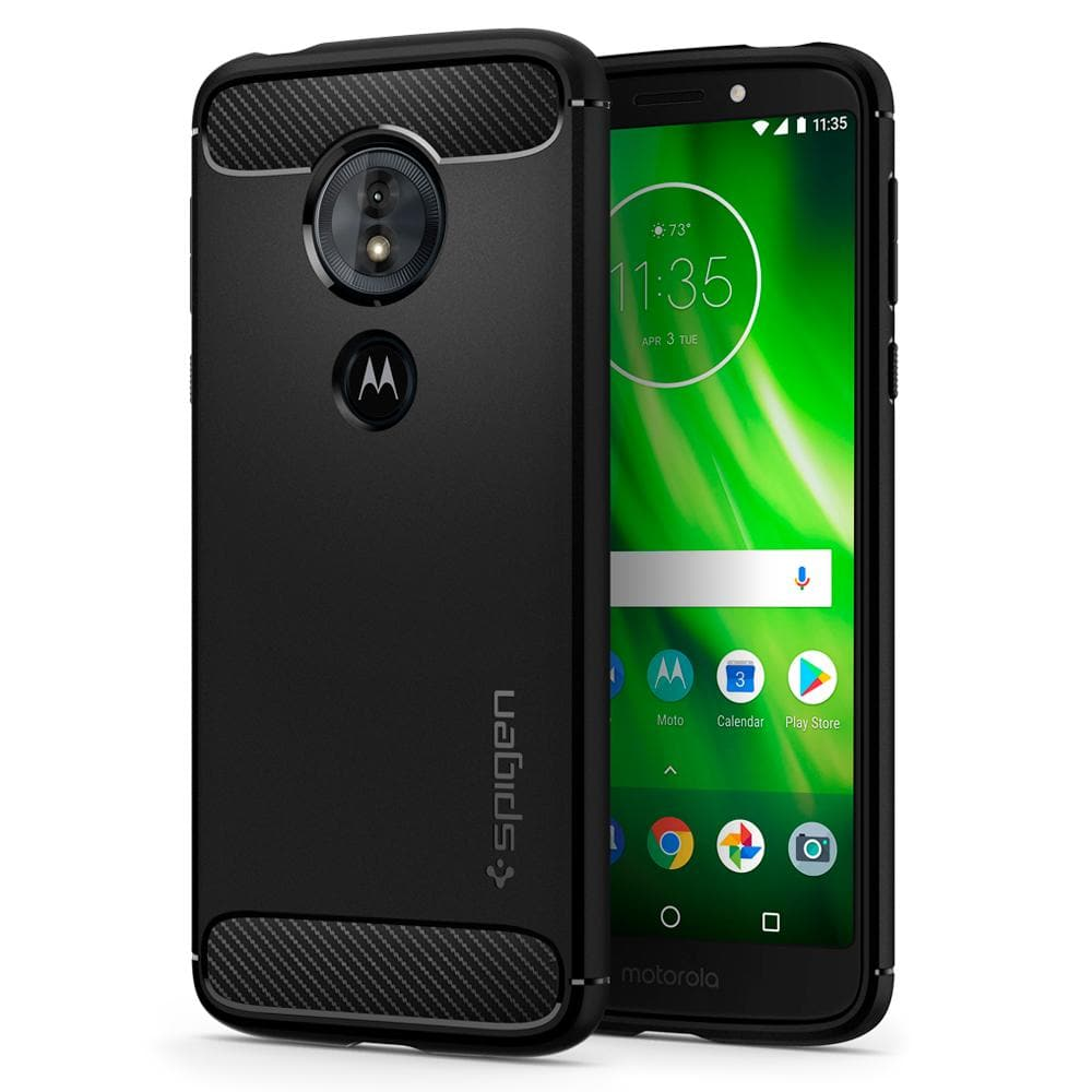 sneakers for cheap f52cb b3245 Moto G6 Play / E5 Case Rugged Armor