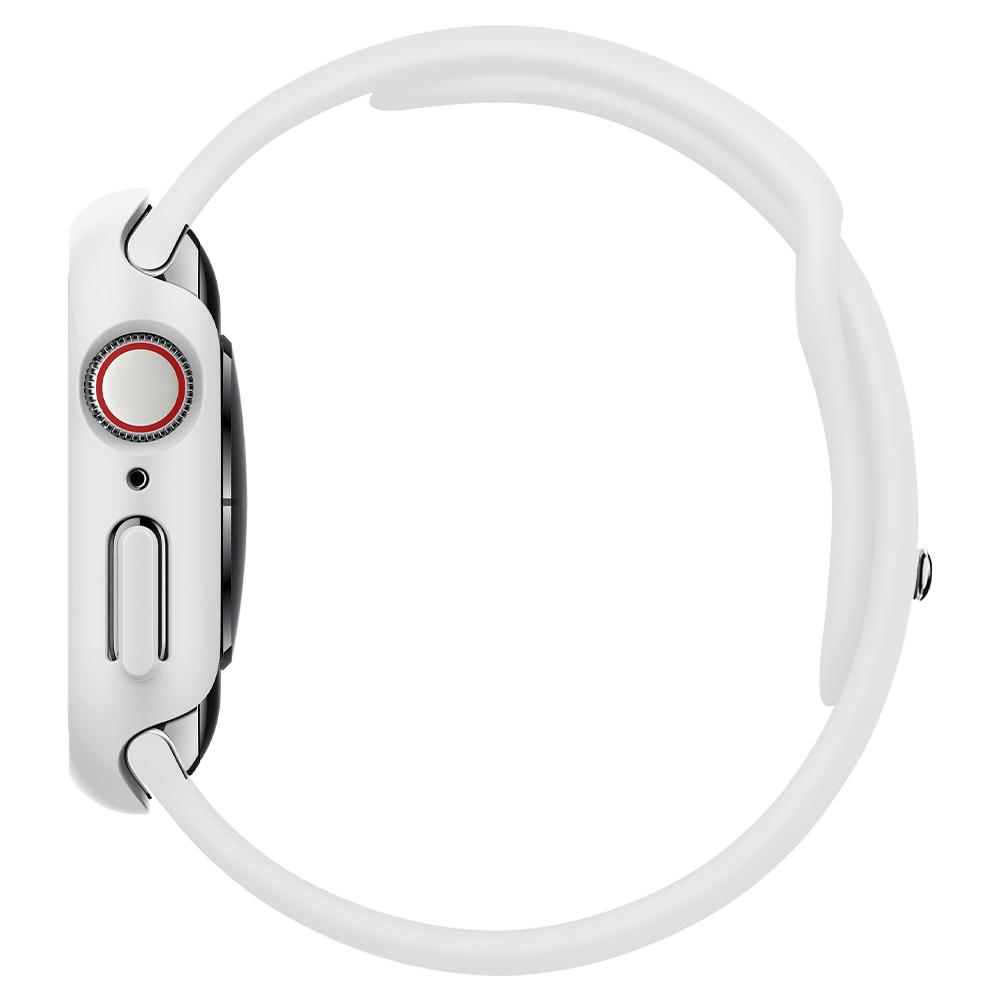 Apple Watch Series SE / 6 / 5 / 4 (40mm) Case Thin Fit in white showing the side