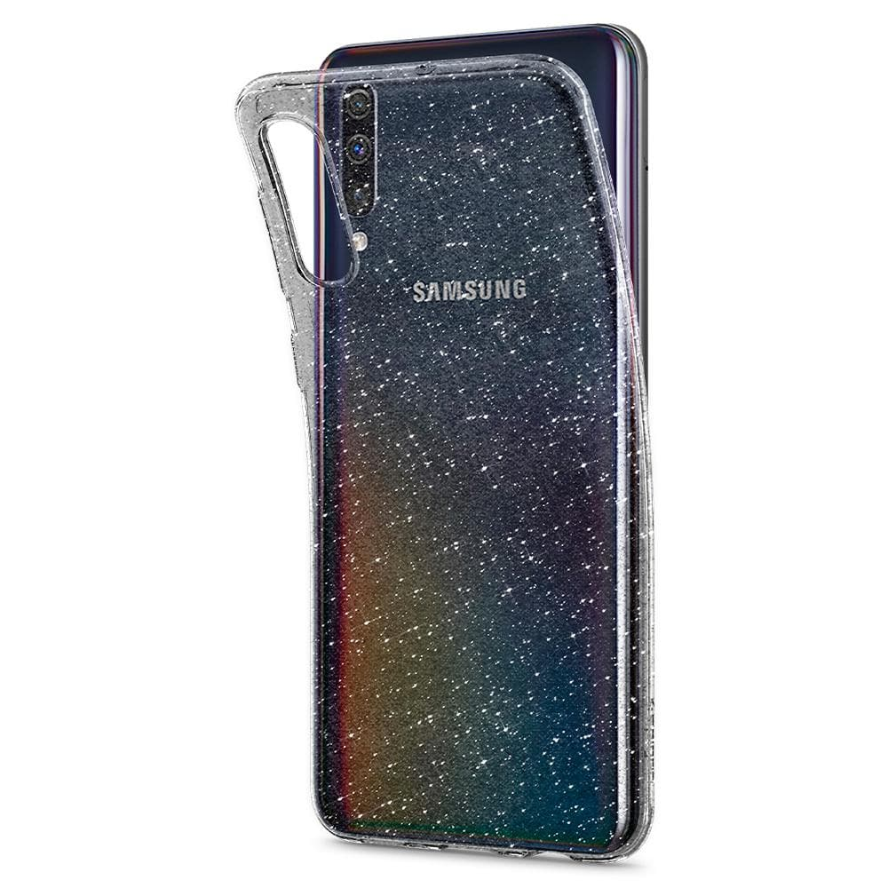 Liquid Crystal Glitter	Crystal Quartz	Case	bent away and detaching from the	Galaxy A50s / A30s / A50	device.